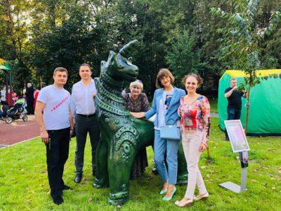 Перовские депутаты приняли активное участие в открытии парка «Перовская слобода». Фото из личных аккаунтов депутатов на ФБ