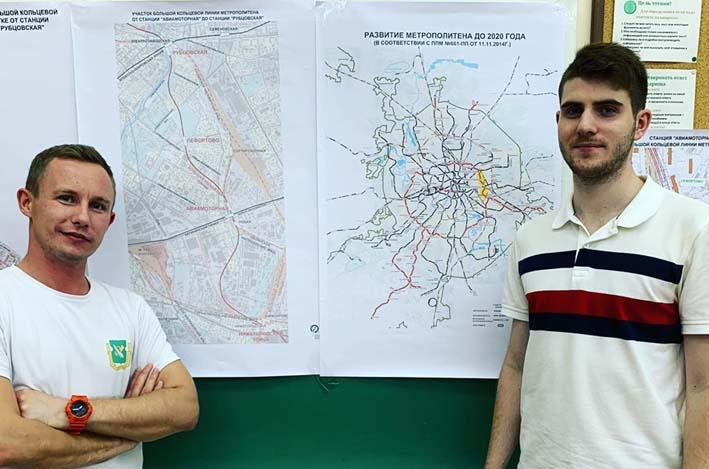 Перовские депутаты поддержали проект строительства части участка Большой кольцевой линии метро. Фото из личного аккаунта Дениса Аксёнова на ФБ