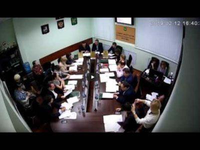 Заседание Совета депутатов МО Перово 12.02.2019
