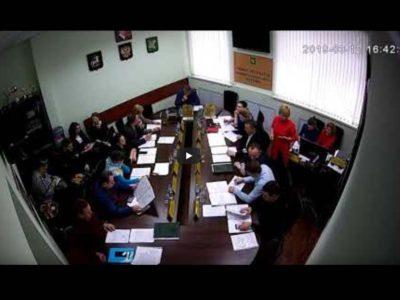 Заседание Совета депутатов МО Перово 12.03.2019