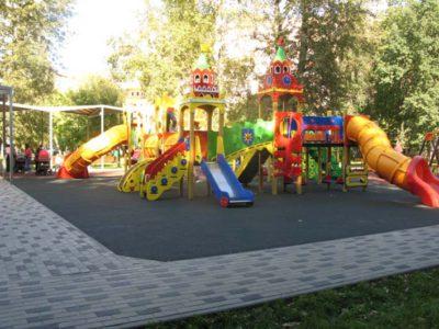 Официальное открытие парка «Перовская слобода» намечено на ближайшую пятницу. Фото Александра Калугина