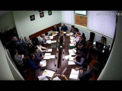 Заседание Совета депутатов МО Перово 31.01.2019