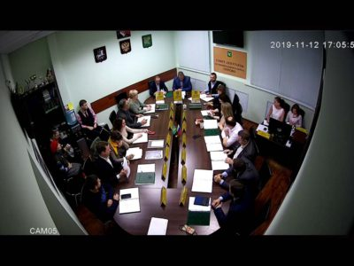 Заседание Совета депутатов МО Перово 12.11.2019