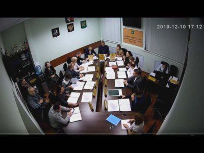 Заседание Совета депутатов МО Перово 10.12.2019