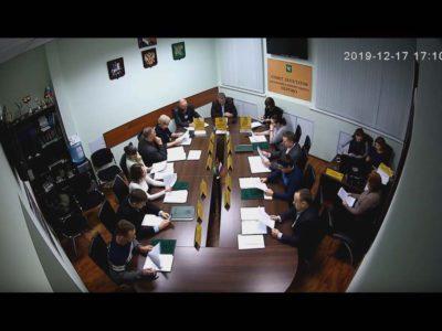 Заседание Совета депутатов МО Перово 17.12.2019