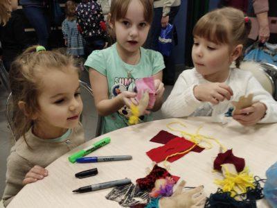 Перовские дошколята покорили сердца профессиональных актеров на фестивале детских театров. Фото предоставлено Еленой Бауэр