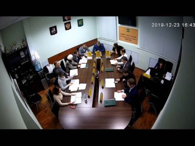 Заседание Совета депутатов МО Перово 23.12.2019