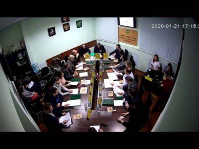 Заседание Совета депутатов МО Перово 21.01.2020