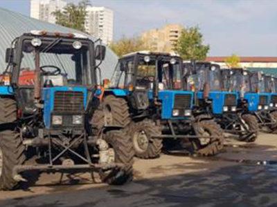 Уборочная техника. Фото управы района Перово
