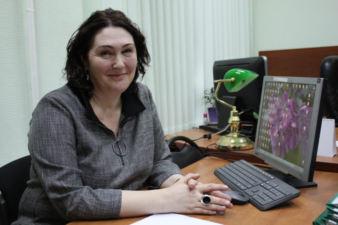 Елена Шаклычёва-Компанец. Фото Сергея Овчинникова