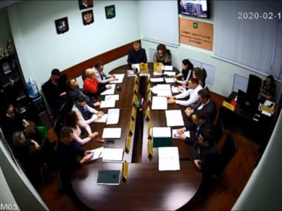 Заседание Совета депутатов муниципального округа Перово 11.02.2020