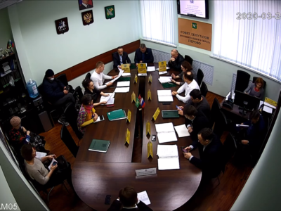 Заседание Совета депутатов 24.03.2020