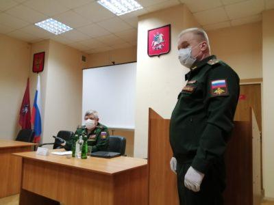 Новобранцы из Перово отдадут воинский долг Родине