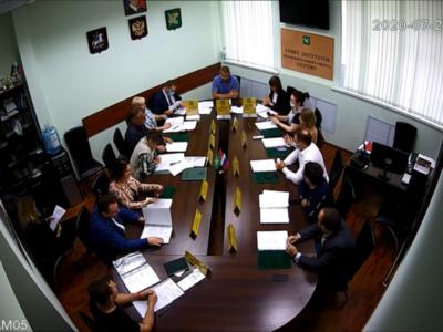 Заседание Совета депутатов МО Перово 21.07.2020