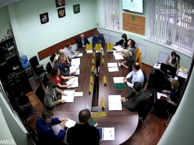 Заседание Совета депутатов МО Перово 08.09.2020