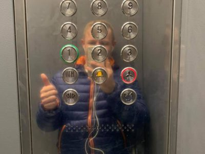 Перовский депутат подписал акт о приёмке новых лифтов