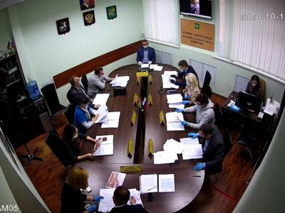 Заседание Совета депутатов МО Перово 13.10.2020