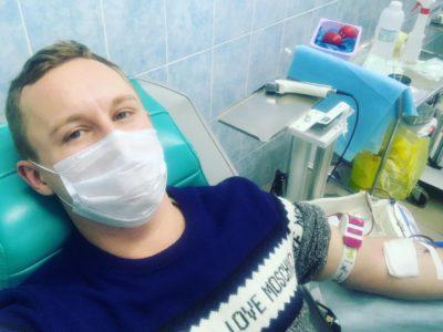 Денис Аксёнов: «До Почётного донора Москвы осталось сдать кровь пять раз»