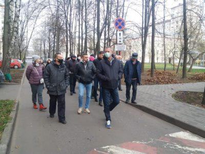 Муниципальные депутаты приняли участие в обходе района