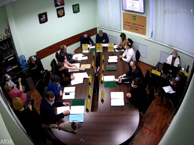 Заседание Совета депутатов МО Перово 19.01.2021