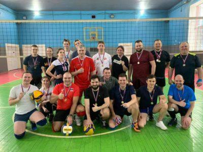 В Перово состязались волейболисты