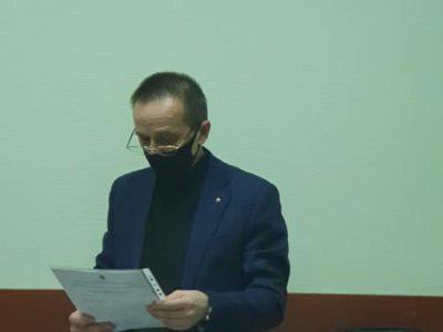 Дмитрий Филиппов рассказал депутатам о работе управы в прошлом году