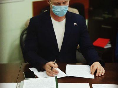 Денис Аксенов отчитался о прошлогодней работе