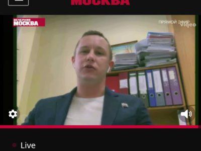 Денис Аксёнов в эфире «Народного депутата»