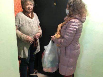 Татьяна Яковлева помогла жительнице Перово