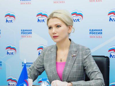 Валентина Бондаренко обсудила школьное питание на городском уровне