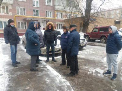 В Перово состоялся обход Перовской и Мастеровой улиц