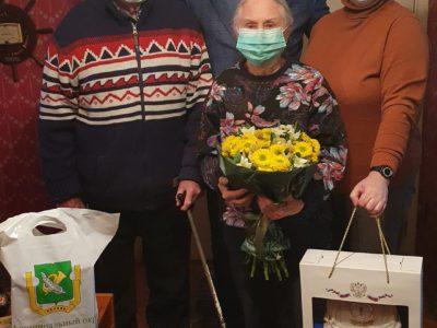 Жителю Перово вручили поздравления от президента России