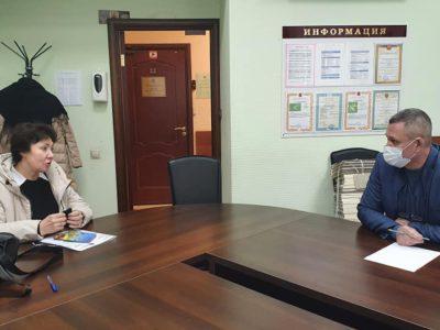 Андрей Тюрин обсудил с жителями вопросы социальной сферы