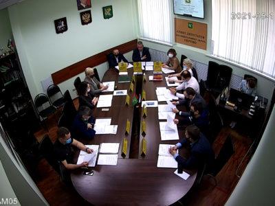 Заседание Совета депутатов МО Перово 11.05.2021
