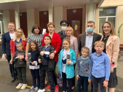 Маленьким пешеходам из Перово дали напутствия перед каникулами