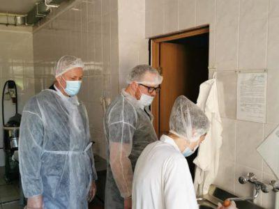 Андрей Тюрин провёл мониторинг питания в дошкольном отделении
