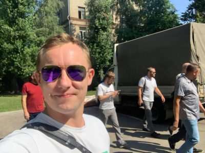 Денис Аксёнов принял участие в традиционном обходе территорий