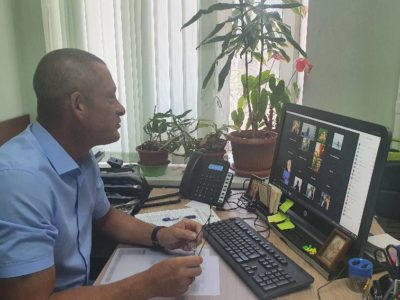 Андрей Тюрин: «Видеоконференции нашли положительный отклик у перовчан»