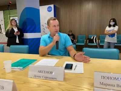 Денис Аксёнов затронул экологические проблемы столицы