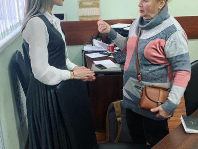 Валентина Бондаренко проконсультировала жительницу Перово