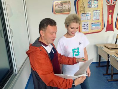 Валентина Бондаренко: «Школа № 1852 готова к новому учебному году»