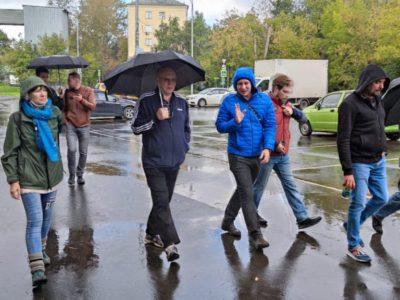 В Перово состоялся традиционный субботний обход